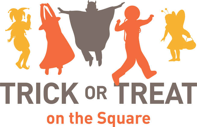 Image result for trick or treat on the square